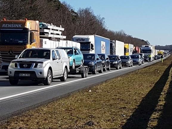 Opvallende toename files op Overijsselse snelwegen in 2018
