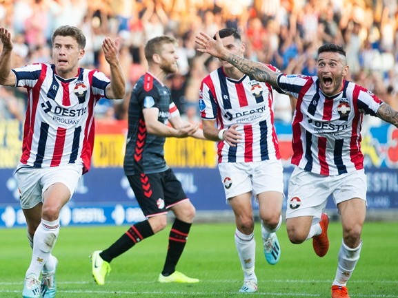 'Leuk voetbal en strijden voor iedere bal', Willem II toont twee gezichten tijdens zege op FC Emmen