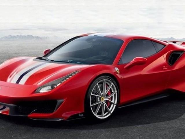 Ferrari 488 Pista leaked