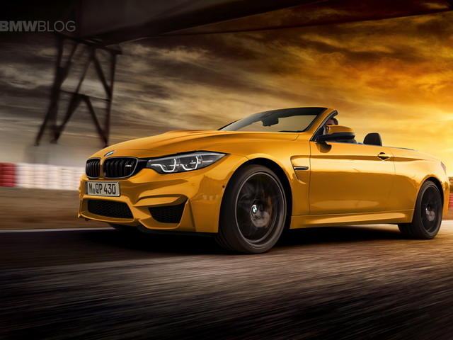 Upcoming BMW M4 Convertible will get a soft rooftop