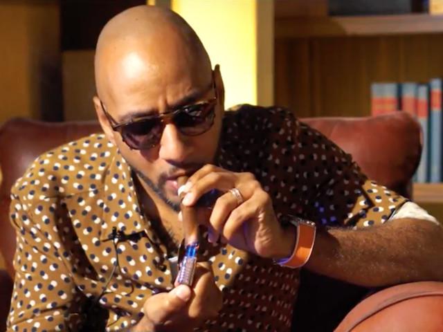 #CigarTalk: Harvard Business School Grad Swizz Beatz Talks Timbaland Battle, Art Basel No Commission And More [Video]