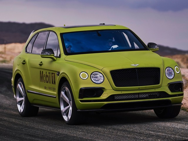 Bentley Bentayga will Race to the Clouds this weekend