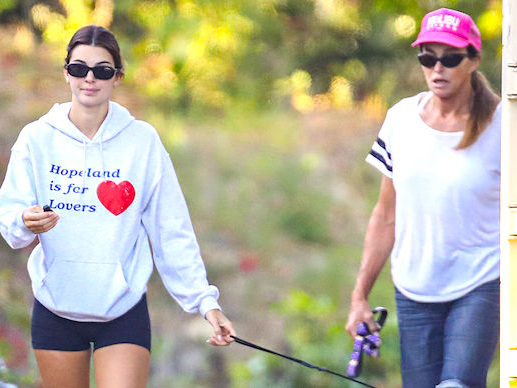 Kendall Jenner Enjoys A Hiking Adventure With Dad Caitlyn Jenner