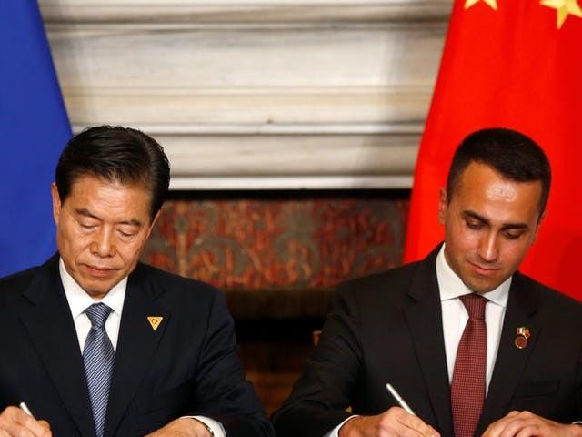 Italië sluit zich aan bij omstreden Chinees investeringsplan