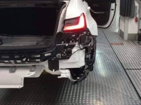 LEAKED: Some new photos of the G80 BMW M3 have leaked