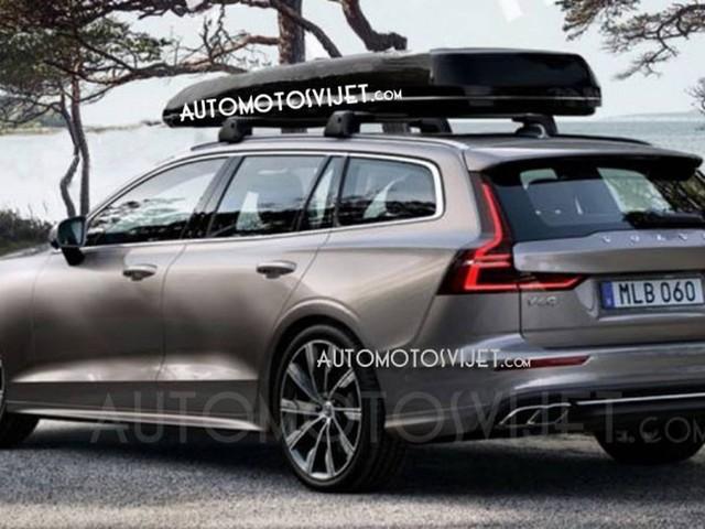 2019 Volvo V60 leaked ahead of its debut in Geneva
