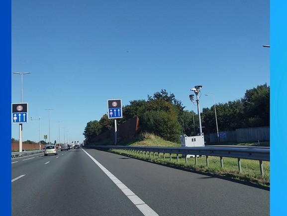 Vaste flitspaal op A28 bij Zwolle of niet? Rijkswaterstaat geeft antwoord