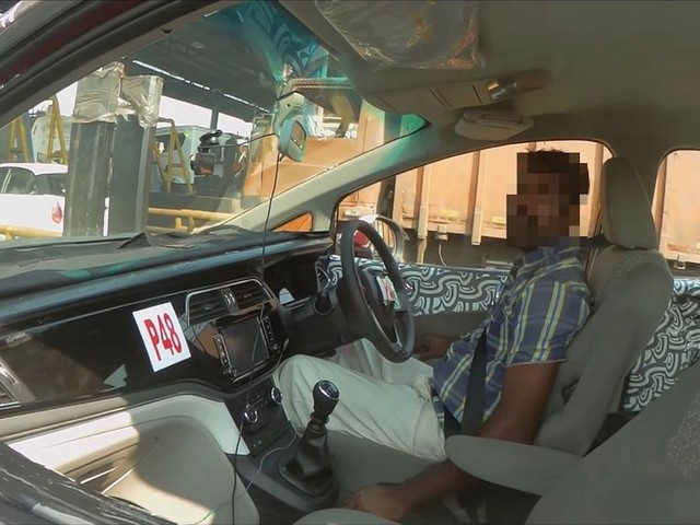 Mahindra U321 Interior Spied Up Close [Video]