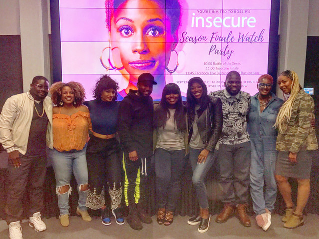 "Lil Rel Howery and Yvonne Orji Attend ""Insecure"" Finale Watch Party Hosted By BOSSIP In Atlanta"