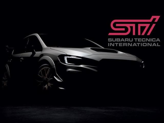Subaru WRX STI S209 teased again ahead of its Detroit debut