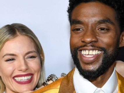 So Sweet: Chadwick Boseman Donated A Portion Of His Salary To Co-Star Sienna Miller For '21 Bridges'