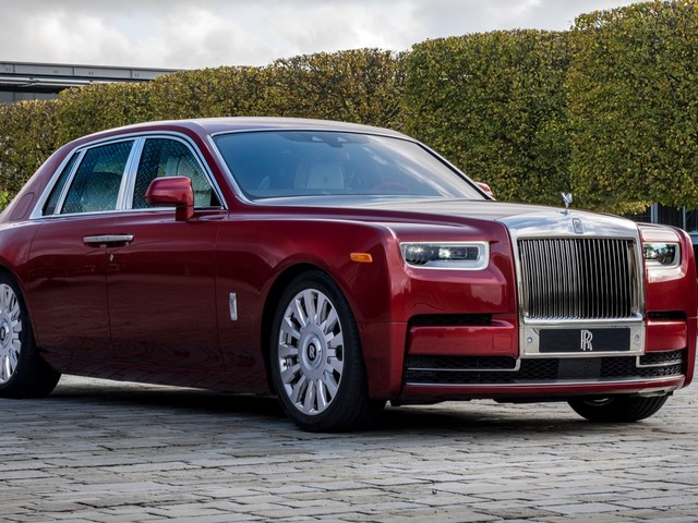 Rolls-Royce has created a one-off red Phantom to benefit RED