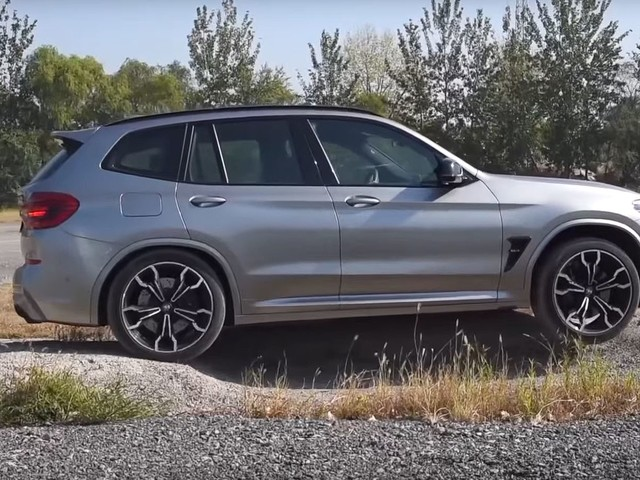 Video: BMW X3 M Competition Tested on off-road course