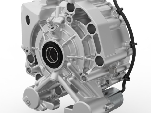 BorgWarner innovative torque-vectoring dual-clutch system for EVs; one motor rather than two; start of production in 2022