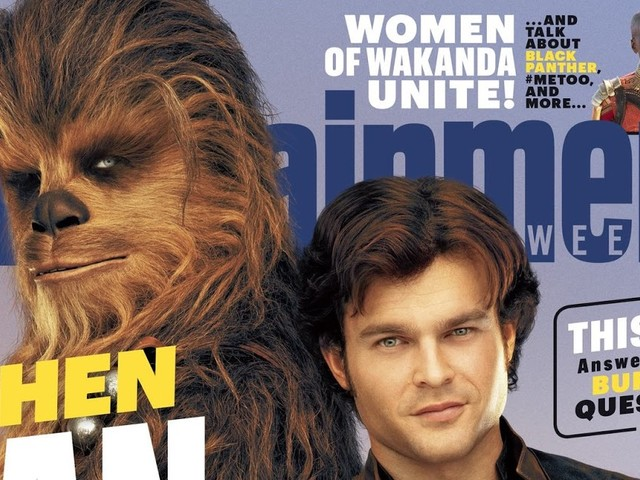 Entertainment Weekly Reveals 'Solo: A Star Wars Story' Cover