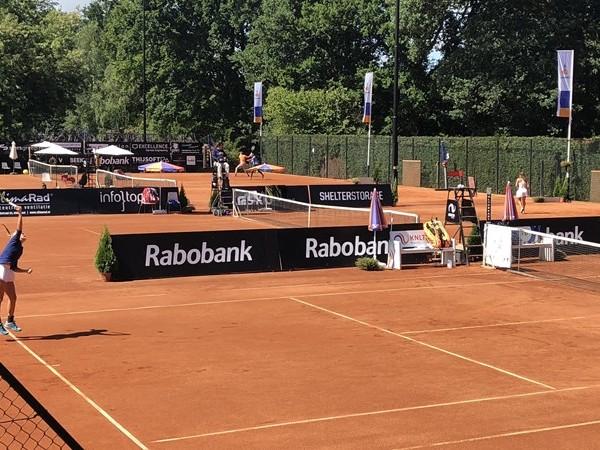 Veel talent op Future tennistoernooi in Oldenzaal