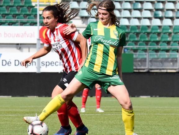 Duur puntenverlies voor PSV vrouwen tegen ADO: titelkansen niet meer in eigen hand