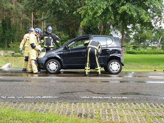 Gewonde bij ongeluk in Bornerbroek