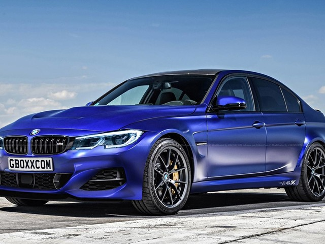 "G80 BMW M3 ""Pure"" will be rear-wheel drive model with three pedals"