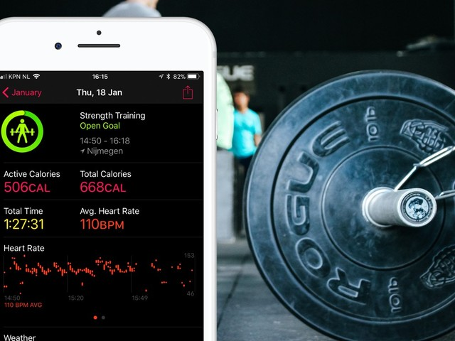 Krachtsport met je iPhone: de 3 beste apps