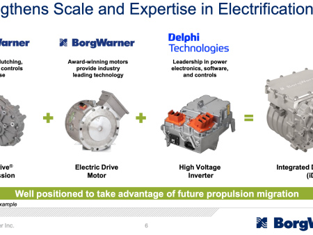 BorgWarner to acquire Delphi Technologies to strengthen propulsion systems portfolio across combustion, hybrid and electric platforms