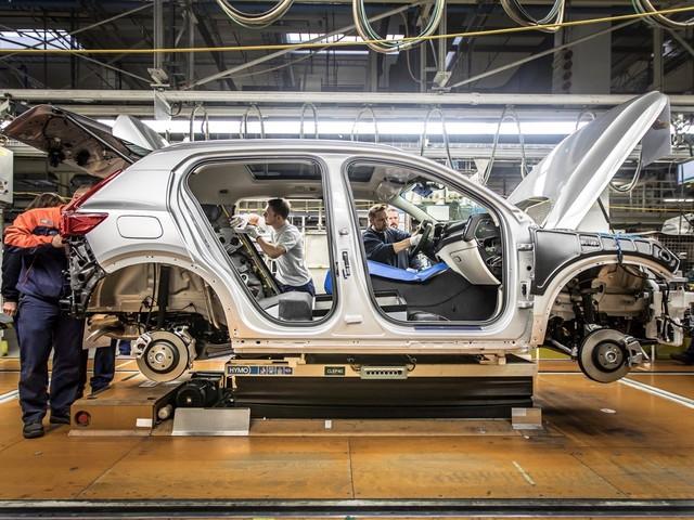 2018 Volvo XC40 production begins in Belgium