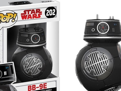 "Fans ""Find the Force"" and Reveal New Star Wars: The Last Jedi Character BB-9E as Force Friday II Gets Underway Around the World"