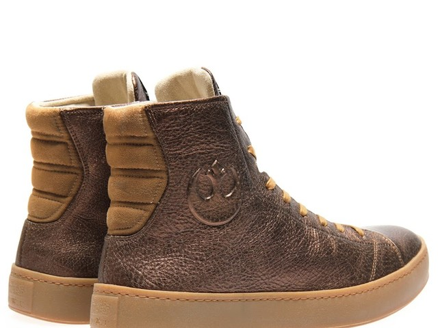 Po-Zu announce co-branded Star Wars™ l Po-Zu Limited Edition Bronze Leather RESISTANCE Sneaker for Men