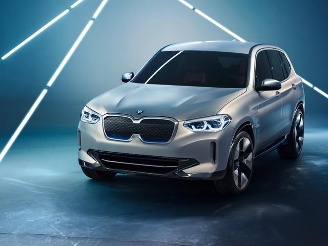 BMW iX3 concept previews the electric X3