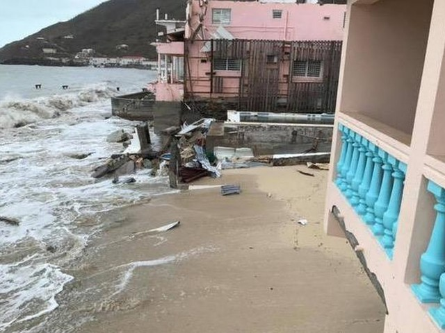 Marine: passage José Sint Maarten meegevallen