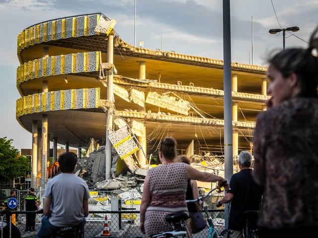 Parkeergarage Eindhoven ingestort door bouwfout