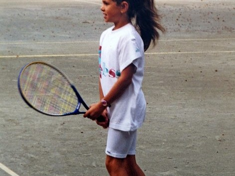 Childhood photos tribute to Julia Goerges' career