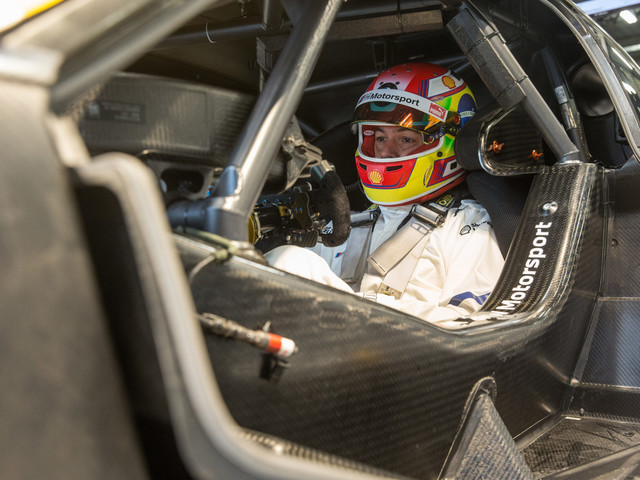 Augusto Farfus returns to the wheel of a BMW M4 DTM for testing