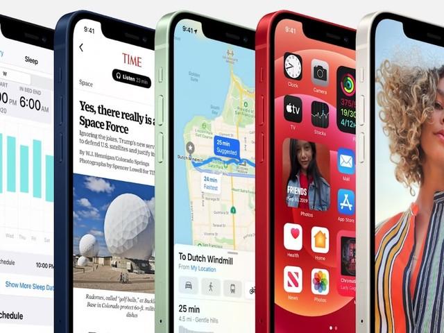 'iPhone 12 trager dan iPad Air 2020'