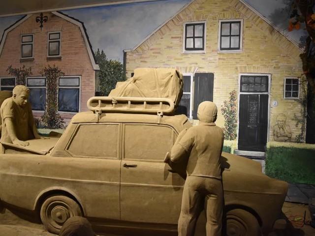 Bij 't Veluws Zandsculpturenfestijn ontdek je Nederland in één dag