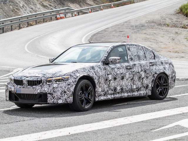 SPIED: G80 BMW M3 is looking mean in new spy photos