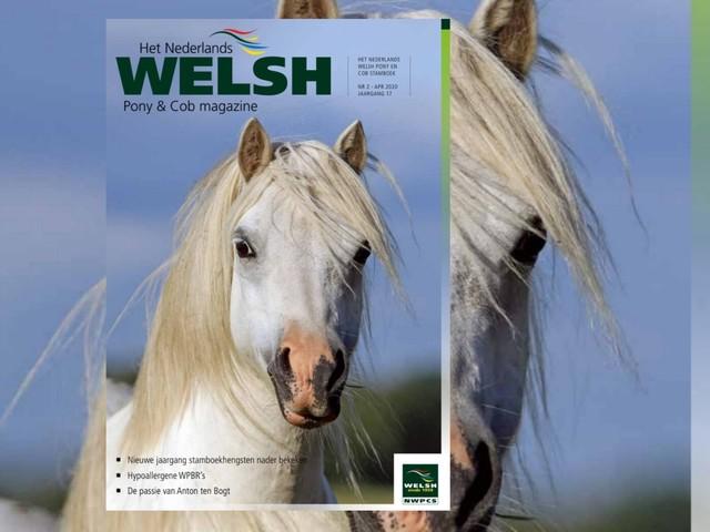 Tweede Welsh Pony & Cob magazine van 2020 is uit