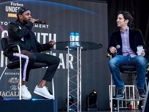 Watch Highlights From Kendrick Lamar's Forbes Under 30 Summit