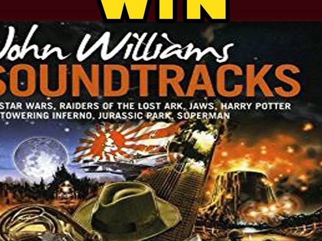 WIN John Williams Soundtracks Compilation Two Disc CD