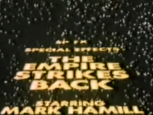 VIDEO - SP FX: Special Effects - The Empire Strikes Back