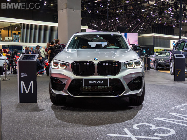 2019 Shanghai Auto Show: Live video of the BMW X3 M Competition