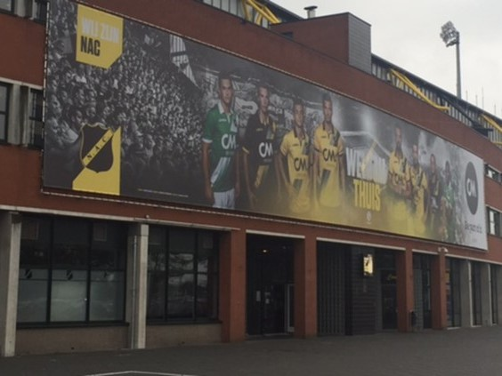 NAC Breda wil eigen stadion toch kopen: 'Weer baas in eigen huis'