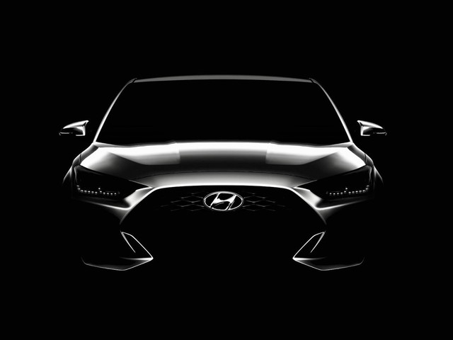 2019 Hyundai Veloster is ready for its Detroit debut