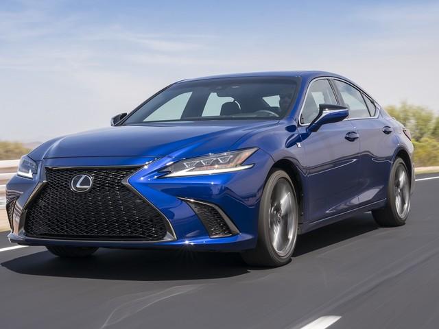 2019 Lexus ES finally goes sporty