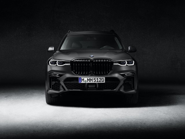 BMW X7 Dark Shadow Edition limited to 600 units, coming in August 2020