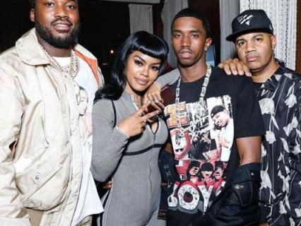 Drankin' WATERMELON: Trey Songz, DJ Khaled, La La Anthony, Teyana Taylor & More At BET After Party Presented By CîROC