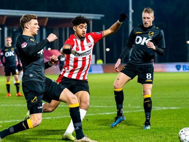 Directe promotie steeds verder weg voor NAC na gelijkspel tegen Jong PSV