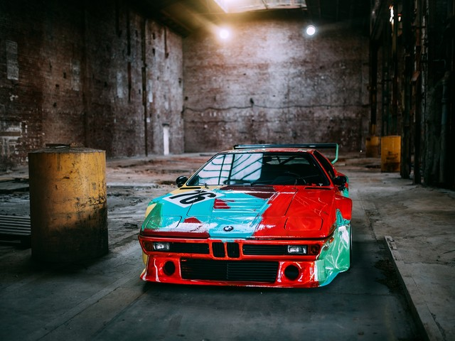 Andy Warhol BMW M1 Art Car to be showcased in India