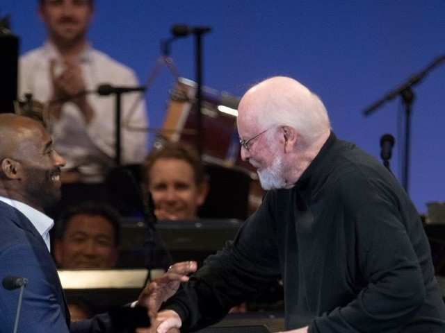 "VIDEO - Kobe Bryant & John Williams ""Dear Basketball"" at Hollywood Bowl 9/1/17"