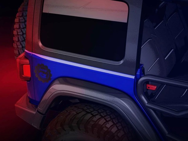 Jeep teases limited-edition Jeep Performance Parts Wrangler